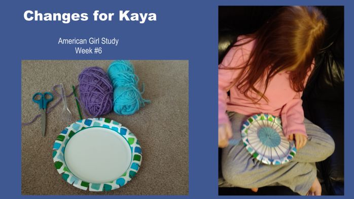 American Girl Study - Kaya week #6