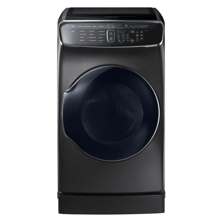Samsung 7.5 Total cu. ft. Electric FlexDry Dryer with Steam in