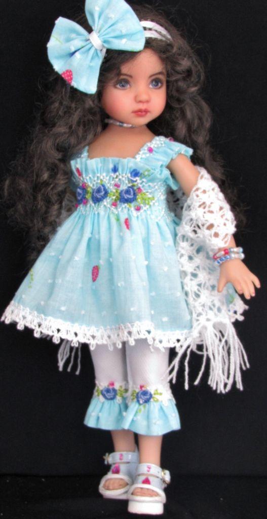 """set made for effner little darling,effner bjd 13"""" dolls"""