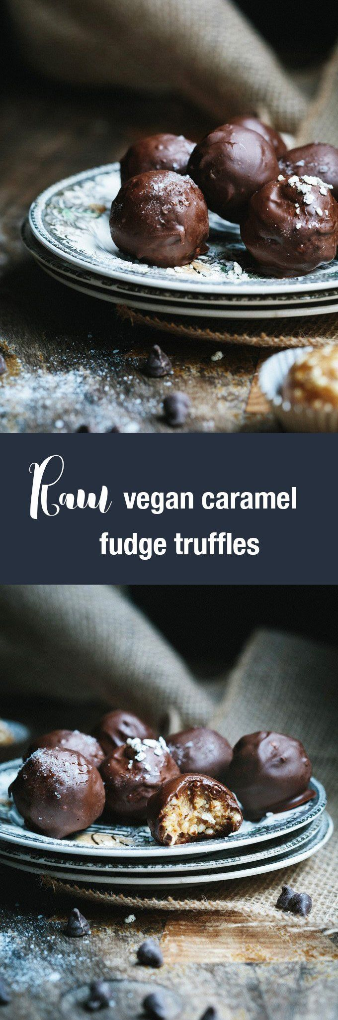 This raw caramel vegan fudge truffles recipe swaps out the junk found in most commercial chocolate bars for sticky, sweet dates, cashew butter and millet crisps. And they are simply wonderful.