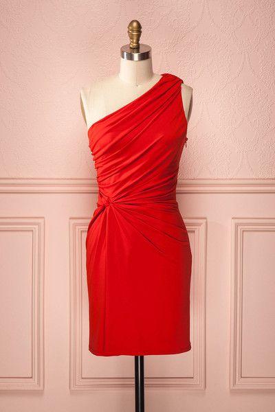 Akao ♥ Les nuits seront courtes tant vous vous amuserez toute la soirée dans cette robe écarlate.  Nights will seem shorter as you are having fun in this scarlet dress.