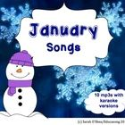 'January Songs' is an album of fun, catchy, pop songs for children to sing. Each song comes with a karaoke version so they can be used for presenta...