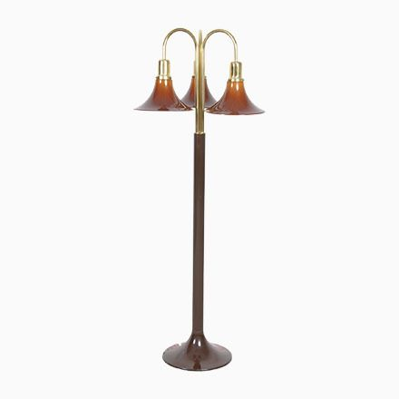 Unique Italienische Vintage Tulip Stehlampe mit Drei Leuchten Jetzt bestellen unter https moebel ladendirekt de lampen stehlampen standleuchten uid udfba