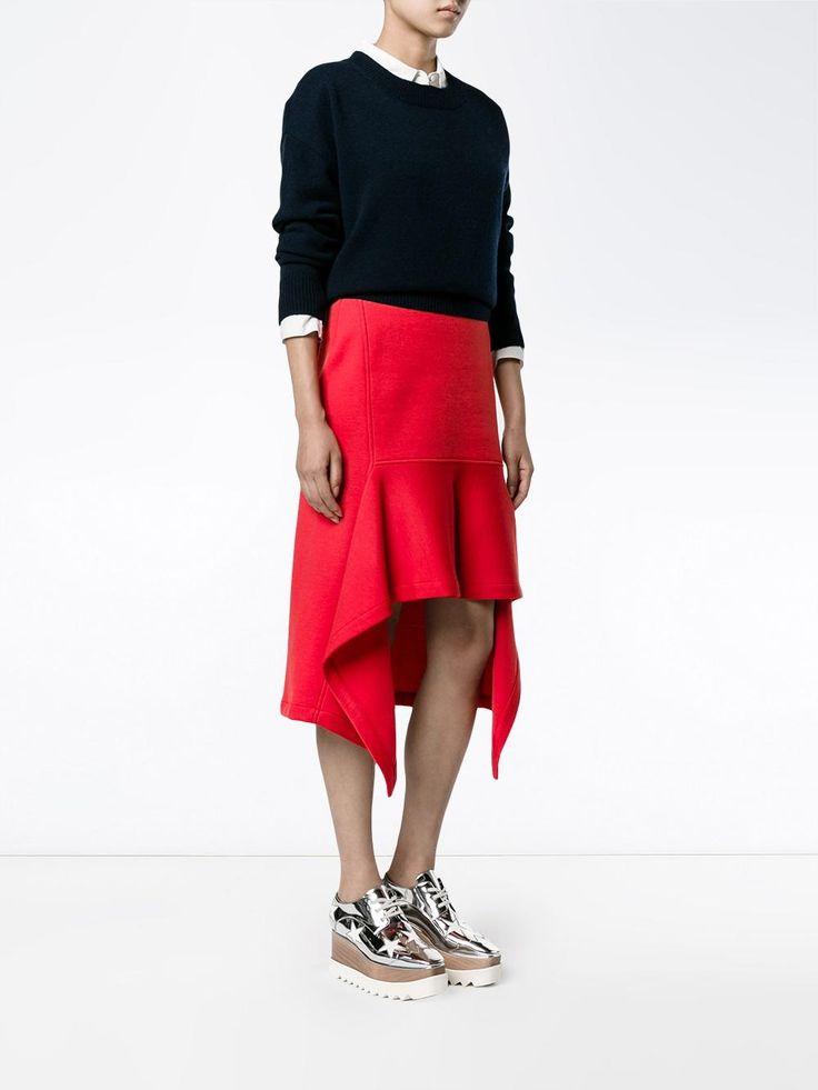 Marni юбка асимметричного кроя