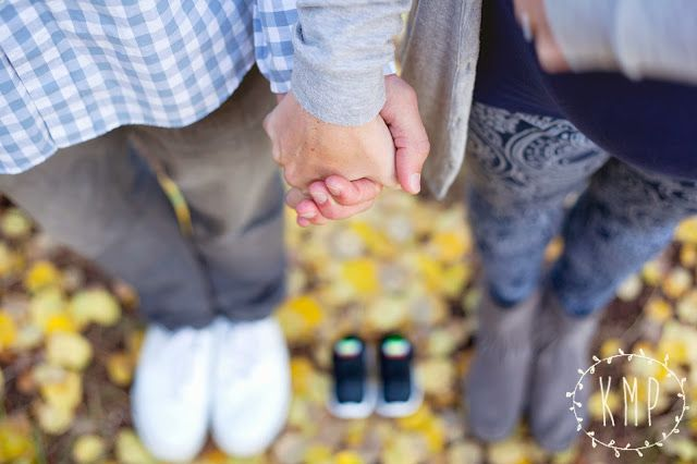 Maternity Picture | Except focus on the shoes
