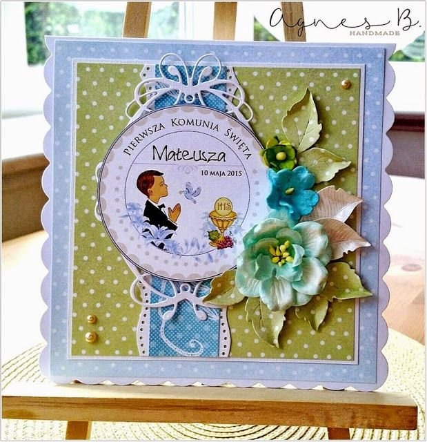 1000 images about komunia on pinterest first communion for First communion craft ideas