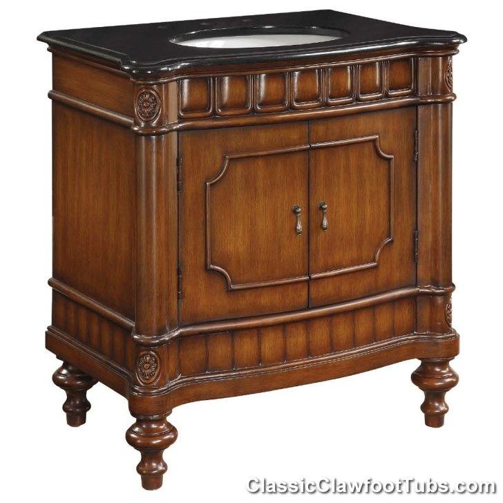 Fresh  Old fashioned Bath Vanity