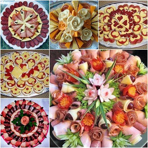 #How to Make Cold Appetizer Platter DIY Ideas / www.FabArtDIY.com