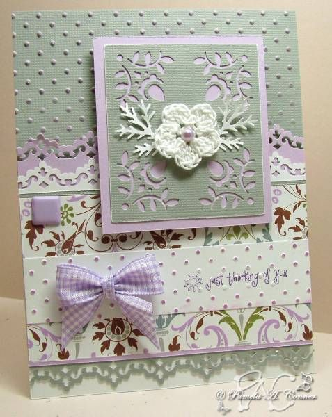 181 best female cards images on pinterest homemade cards Halloween Homemade Cards Homemade Christmas Cards