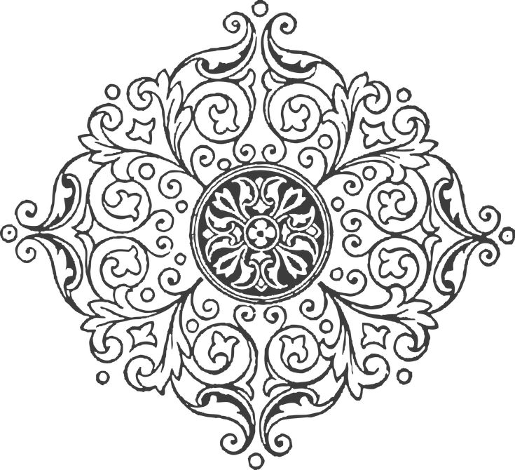 This One Is An Addition To The Henry Van Dyke Set Of Vintage Frames Borders Ornaments Clipart There Are 2 Doodle And 3 Decorative In