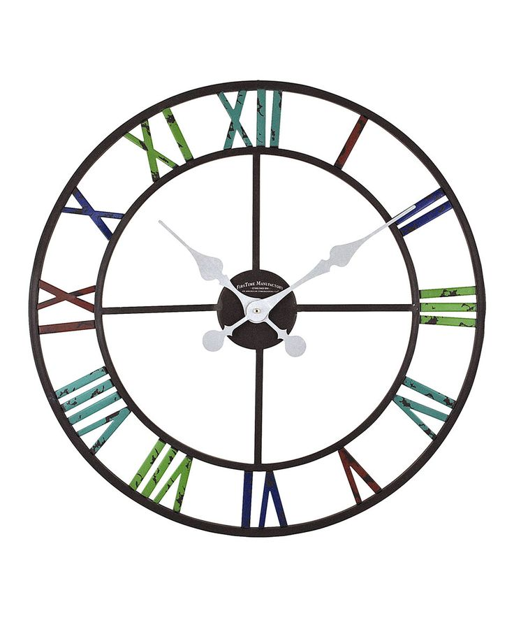 Take a look at this Artisan Outdoor Wall Clock today!