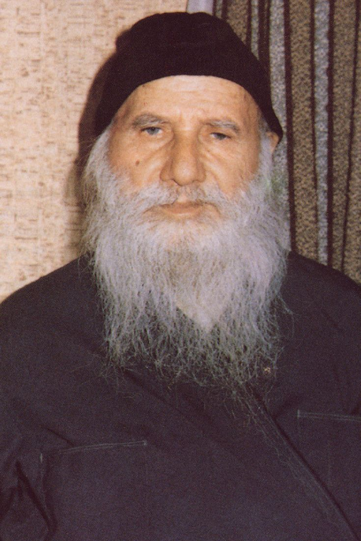 "Saint Porphyrios of Kafsokalivia - Saint Porphyrios (Bairaktaris) the Kapsokalyvite (7 February 1906 – 2 December 1991) was an Athonite hieromonk known for his gifts of spiritual discernment, a type of clairvoyance which he sometimes called ""spiritual television"". His sainthood was declared by the synod of the Ecumenical Patriarchate on November 27th, 2013. #saint #porphyrios #mount #athos #agios #porfyrios #αγιος #πορφυριος #καυσοκαλια"