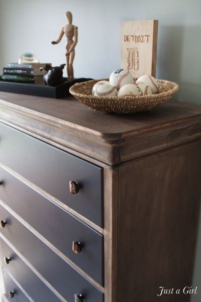 """AMAZING ! Easy to Follow tutorial on how to create a """"Restoration Hardware"""" stain on  wood !"""