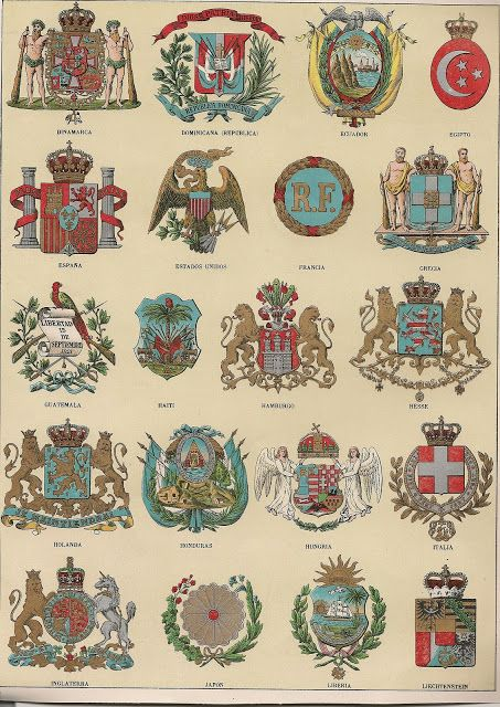 MINIATURAS MILITARES POR ALFONS CÀNOVAS: ESCUDOS DE LOS ESTADOS EN 1900 (HERALDICA)