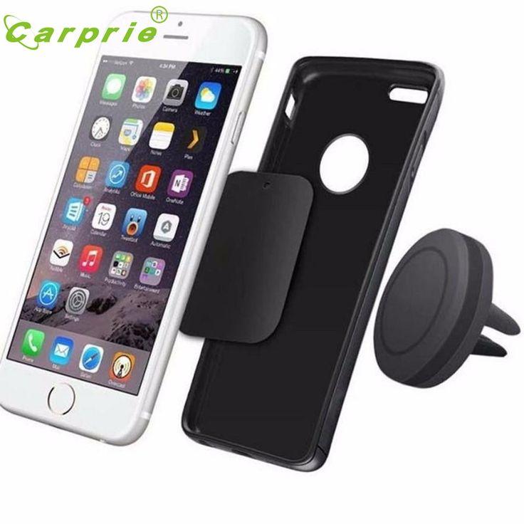 Magnética del coche air vent mount holder soporte para el iphone teléfono móvil gps uf sep21 universal de placas de metal precio al por mayor