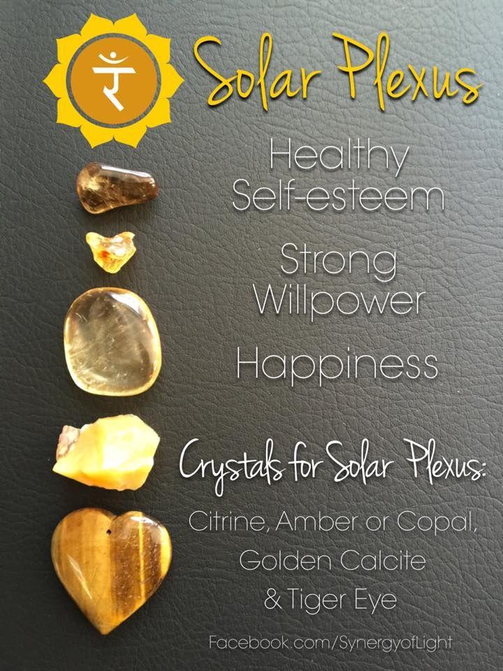 Crystals Stones: Solar Plexus Chakra #Crystals.