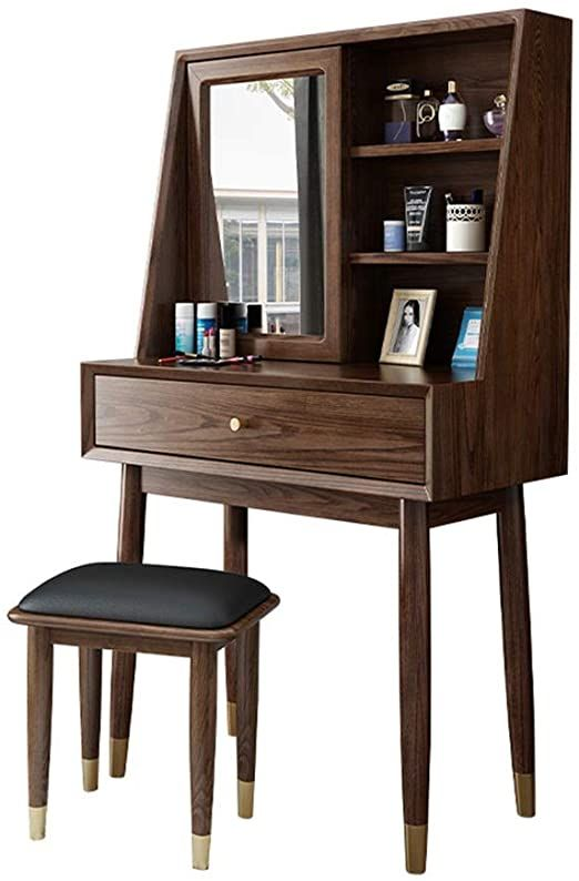 Pair Bed Stools: Console Tables Bedroom Dresser Vanity Table Mirror Makeup