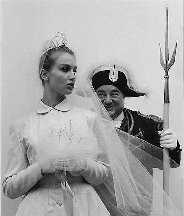 The Swiss Guard and the Bride, by Robert Doisneau c. 1970