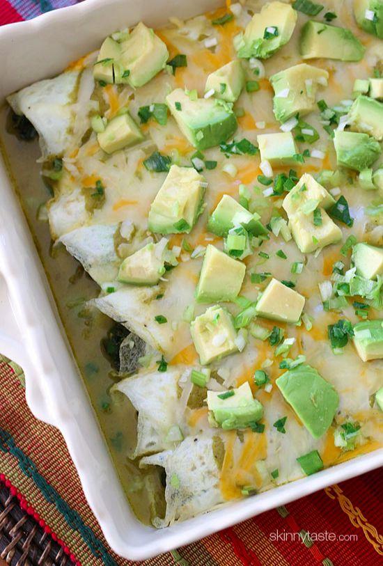 Low Carb Enchiladas for breakfast or dinner!
