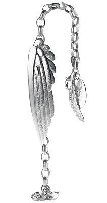 Karearea Wing Bracelet with Miromiro Feather - Boh Runga | Shop New Zealand NZ$ 299.00