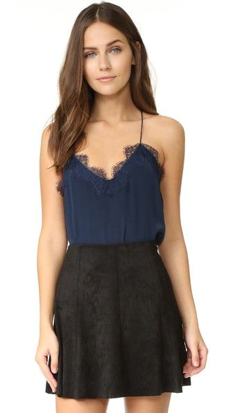 ONE by CAMI NYC Lace Racer Camisole