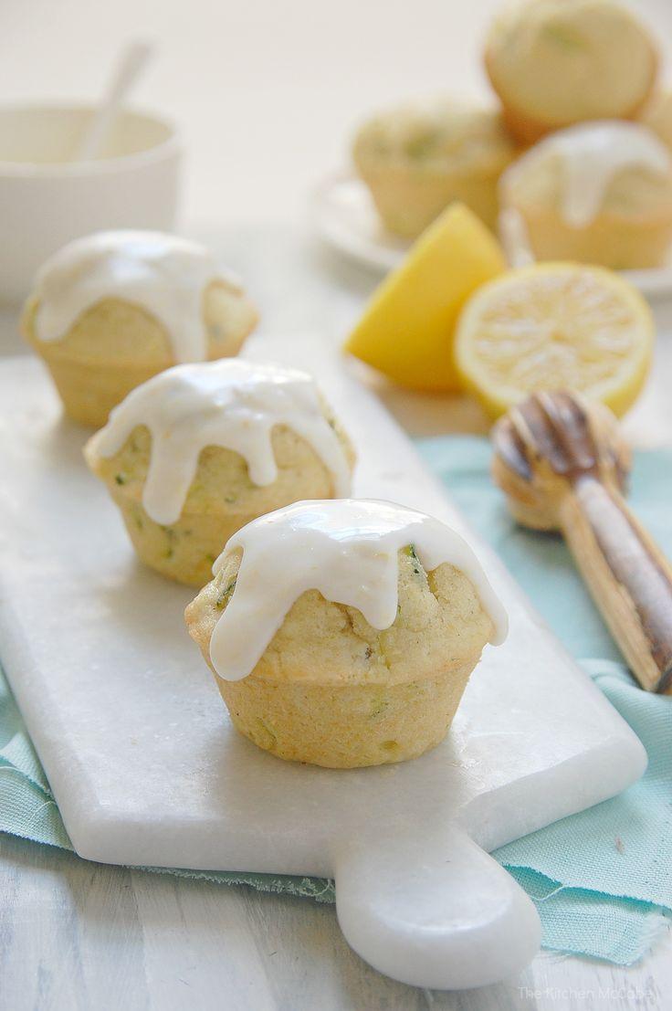 Lemon Zucchini Muffins {dairy-free} - The Kitchen McCabe