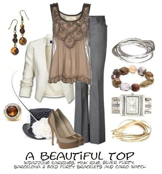 it started with a beautiful top...