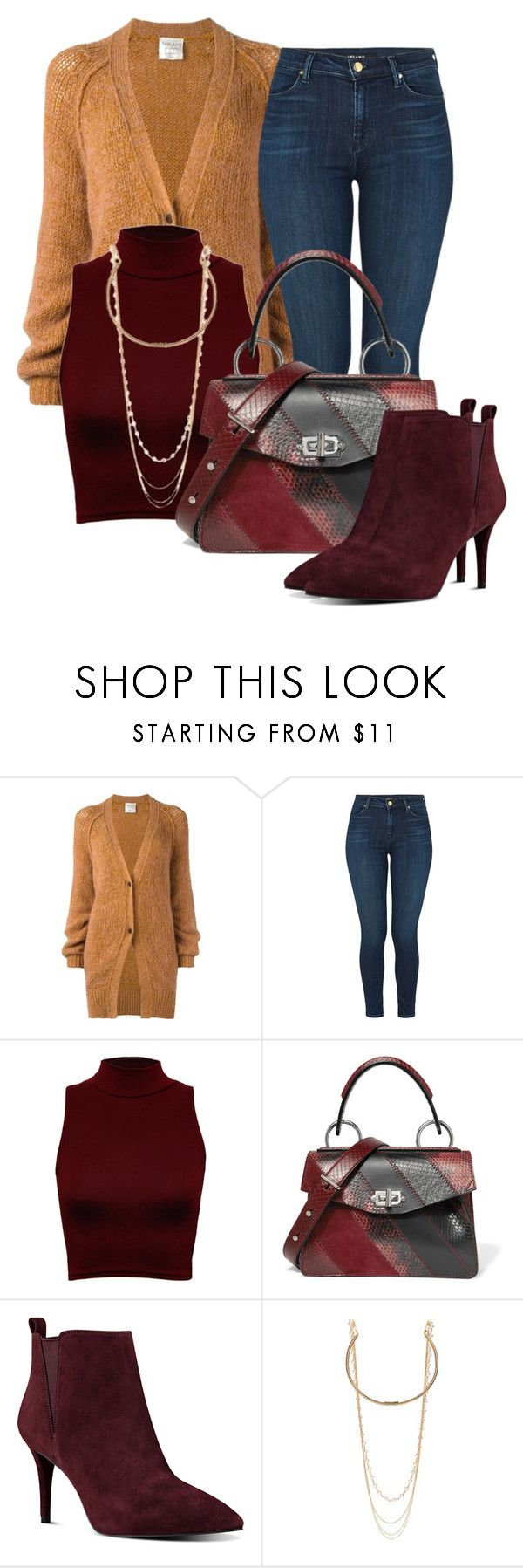 """Untitled #1036"" by deb105 ❤ liked on Polyvore featuring Forte Forte, J Brand, WearAll, Proenza Schouler, Nine West and Marc Jacobs"