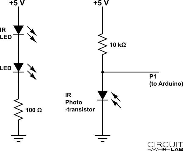 Train Detector Module with IR