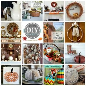 That DIY Party – 15 Fall Highlights