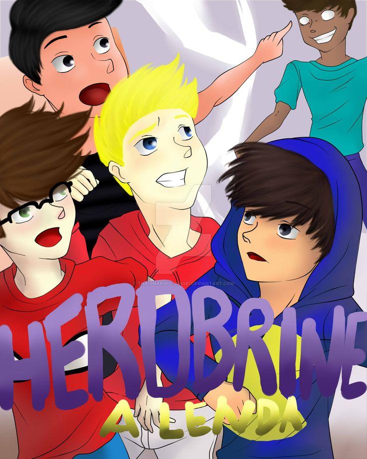 TazerCraft - Book - Herobrine - A Lenda by ThaisMarino-Sensei.deviantart.com on @DeviantArt