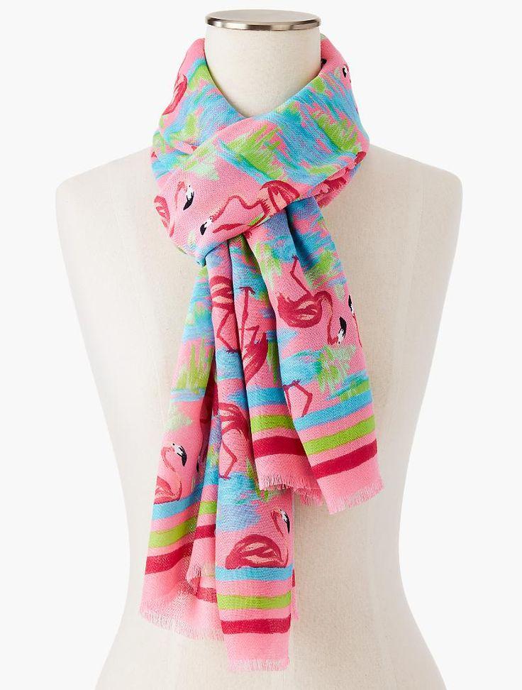 Cashmere Silk Scarf - Flamingo Pinks by VIDA VIDA N4Fsu