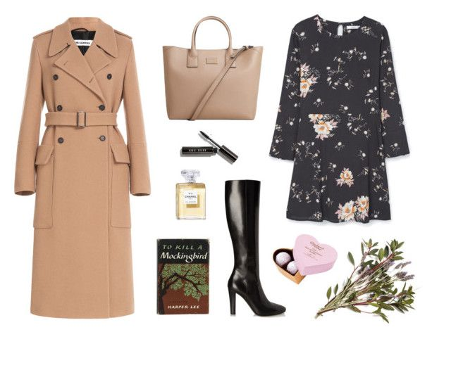 """spring's lady set"" by alenaganzhela on Polyvore featuring мода, Jil Sander, Yves Saint Laurent, MANGO и Bobbi Brown Cosmetics"
