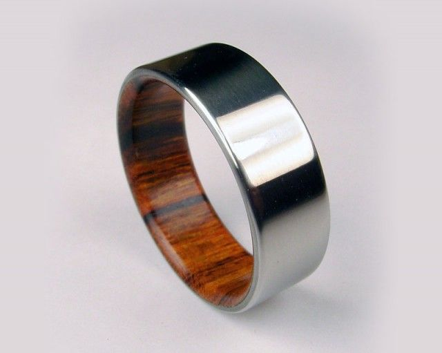 When I finally decide to start wearing a wedding ring over my tattoo ring, this would be neat.
