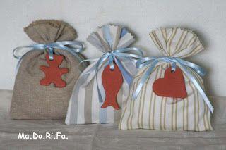 Ma.Do.Ri.Fa.: I sacchettini portaconfetti da bimbo e da bimba!