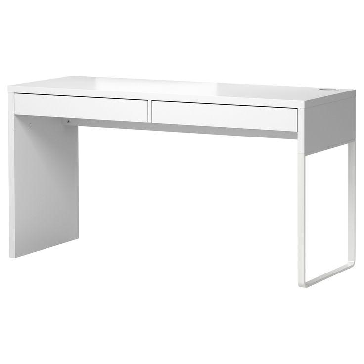 Micke White Desk 142x50 Cm Ikea Ikea Micke Desk Micke Desk Ikea Micke