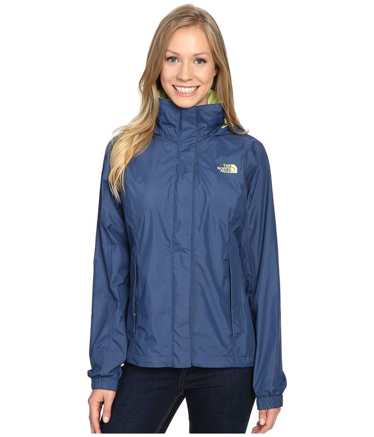 THE NORTH FACE THE NORTH FACE - RESOLVE JACKET (SHADY BLUE) WOMEN'S COAT. #thenorthface #cloth #