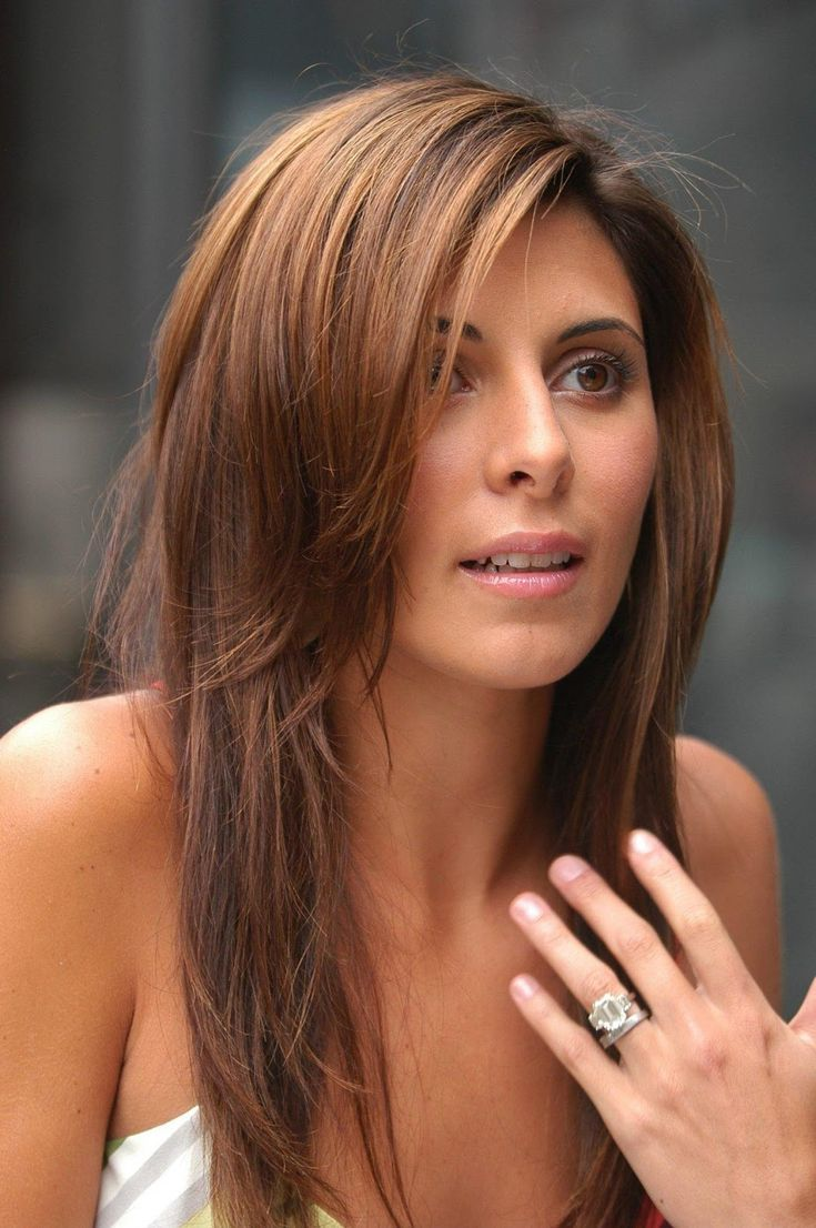 layered hair - Jamie-Lynn Sigler