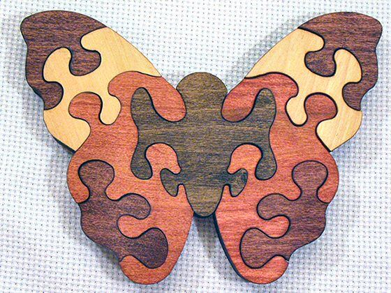 Scroll Saw Wooden Puzzles | The poplar or maple hardwoods used to make them are grown and ...