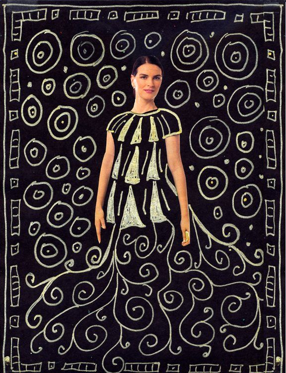 """An Austrian painter, Gustav Klimt lived in the early 1900's and started his career as a decorator. He is probably most famous for his painting named """"The Kiss"""". 1. The first step is to give the students black construction paper, magazines with lots of people in them, scissors and a glue stick. Instruct the students to … Read More"""