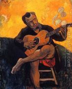 The Guitar Player  by Paul Gauguin