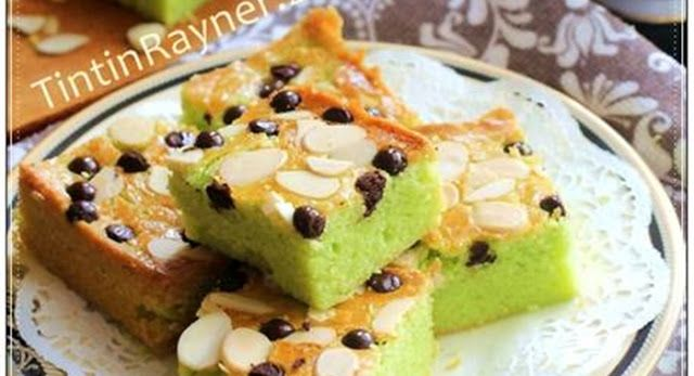 LEKKER HOLLAND PANDAN 4 Bahan aka Dutch Boterkoek Superr Rich&Yummy