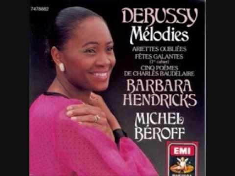 Barbara Hendricks - DEBUSSY Ariettes oubliées: Il Pleure dans Mon Cœur (poème de Paul Verlaine )