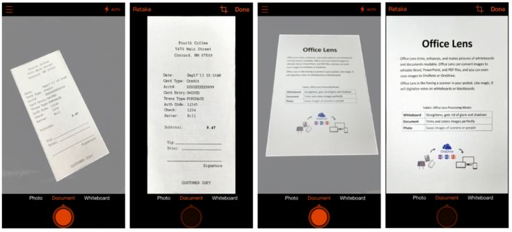 Microsoft just launched Office Lens, an app that turns your phone into a scanner.
