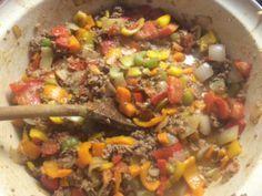 Chili con Carne (zonder bonen)
