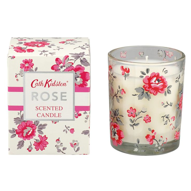 #CKCrackingChristmas Painted Rose Scented Candle | Cath Kidston |