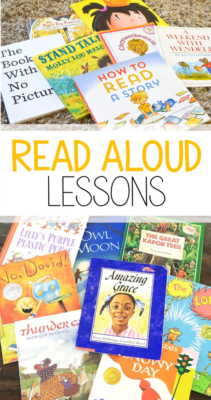 Tons of read aloud lessons for your FAVORITE picture books! Lessons include stopping points and scripted questions great for subs