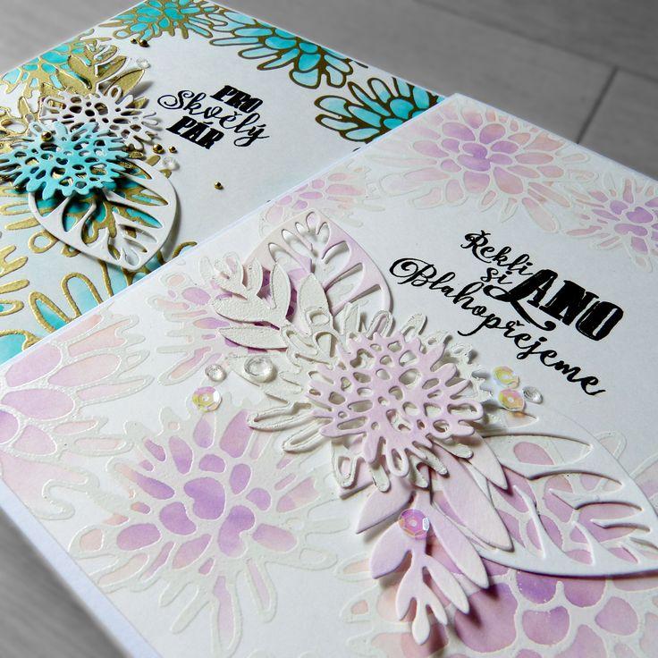 INSPIRACE... Svatební gratulace s MISTI | Pretty Papers - přáníčka, scrapbook, tvoření z papíru...