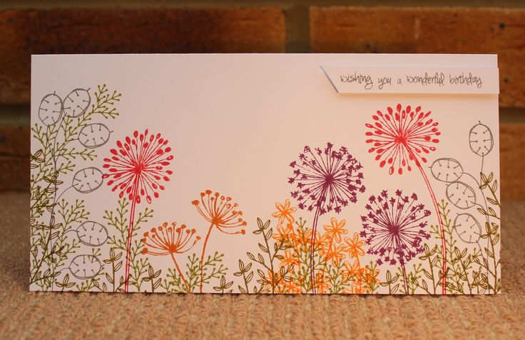 Card using the Stamp It! stamps, by Sue Smith for Craftwork Cards.