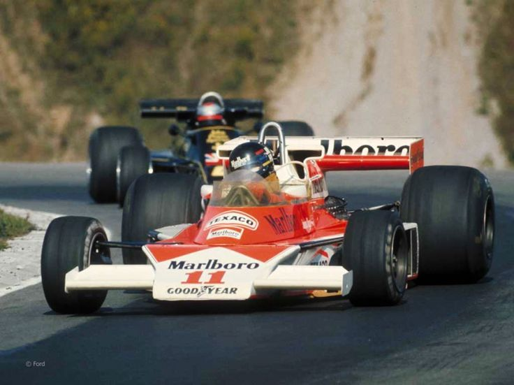 James Hunt, McLaren M23, Mosport, 1976